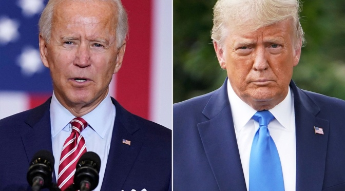 Trump Says COVID-19 Vaccine Won't Be Mandatory, Biden Says It Should Be