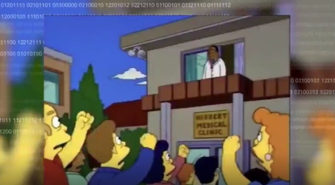 Did this 1993 episode of The Simpson's predict the 2020 lockdown?