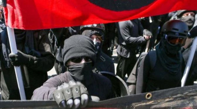 "FBI, DHS Officially Classify ""Antifa"" Activities as ""Domestic Terrorist Violence"""