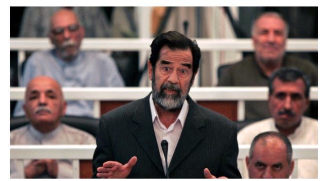 "Joe Biden, Five Years Before Invasion, Said the Only Way of Disarming Iraq Is ""Taking Saddam Down"""