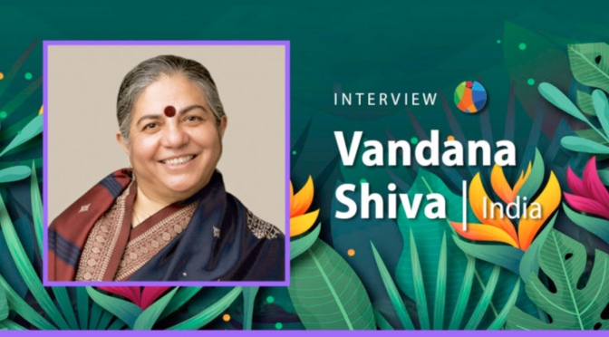 Women Who Build the Future: Towards a Non Violent Culture. Vandana Shiva